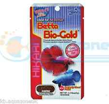 2x Hikari Betta Bio Gold 5g for Siamese Fighters Floating Food Fast DISPATCH