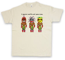 THE SECRET CANNIBALS T-SHIRT Monkey Game I guess we'll eat you now Island of
