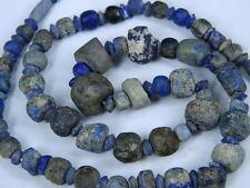 Ancient Lapis Lazuli Beads Strand Roman 200 BC  #BE2418