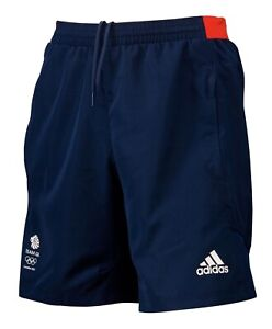 "Adidas Team GB London 2012 Olympics Woven Shorts Size Medium (34"") BNWT"