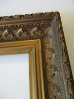 ANTIQUE 19TH CENTURY LARGE FRAME VERY ORNATE FLORAL VICTORIAN ART NOUVEAU DECO