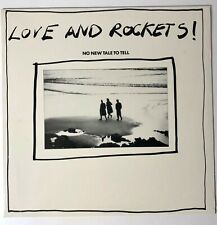 """Love And Rockets – No New Tale To Tell Vinyl, 12"""", Promo"""