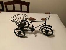 Miniature Bicycle Metal Vintage Rickshaw Cycle Showpiece Home Decor