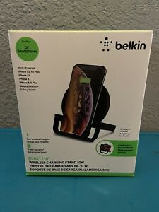 Belkin Boost Up Wireless Charger for Apple, Samsung, LG and Sony - Midnight...