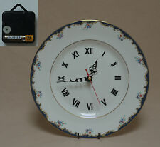 "Wedgwood ""Chartley"" 10.75"" Wall Hanging Plate CLOCK"