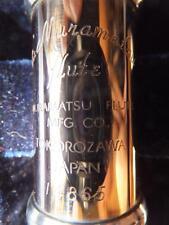 MURAMATSU 14K GOLD Querflöte GOLDFLÖTE NEW flute solid 14ct flauta oro flauto or