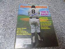 Yogi Berra Signed Sports Illustrated Magazine New York Yankees