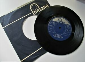 SPENCER DAVIS GROUP*** TIME SELLER c/w DONT WANT YOU NO MORE1967 FONTANA RECORDS