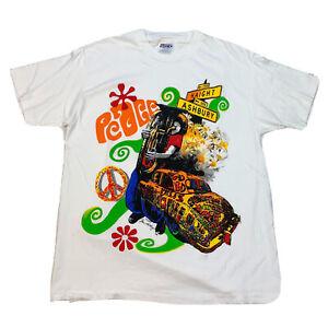 Vintage Haight Ashbury T-Shirt Psychedelic Art Grateful Dead Large