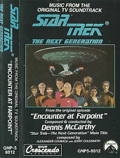 STAR TREK NEXT GENERATION ENCOUNTER AT FARPOINT MCCARTHY CASSETTE ALBUM TV