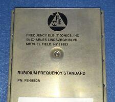 USED FE5680A Rubidium Oscillator output 10MHz 1PPS +15V