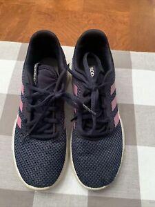 Girls Adidas Blue/Pink Racer 2.0 Running Sneakers-Size 3.5