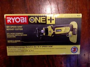 Ryobi Cordless Speed Saw Rotary Cutter by Ryobi 18-Volt ONE+ Tool Only P531 NEW