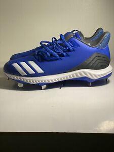 adidas Icon Bounce Blue Metal Baseball Cleats Men's 13 (CG5243)