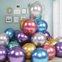 10pcs 18 Inch Metallic Latex Balloons Birthday Wedding Celebration Party Decor