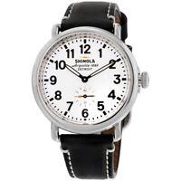 Shinola The Runwell Quartz Movement White Dial Ladies Watch S0110000019