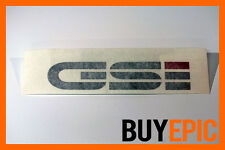 Original OPEL GSI Aufkleber 135mmx30mm, Decal, Sticker, Kadett, Manta, Corsa 16V