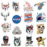 Iron on Patches Heat Transfer Patches Applique DIY Sticker T-Shirt Dress Patches