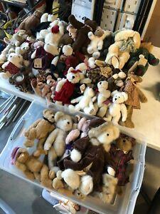 Lot of (37) plush + (5) figurines Boyd's Bears
