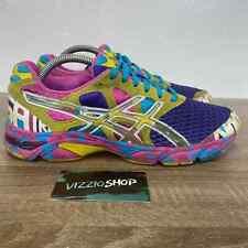Asics - GEL-Noosa Tri 7 Purple Blue Yellow White Pink Running - Women 10 - T264N