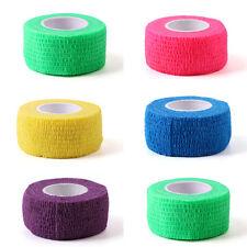 2X Practical Multicolor Nail Art Finger Sports Protective Non-woven Bandage Tape