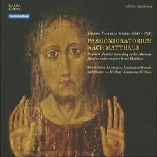 Passion Oratorio Selon Saint Mathieu, New Music