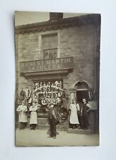 More details for a rare c1910 photographic view of ernest martins saddlers astley bridge bolton