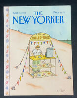 COVER ONLY ~ The New Yorker Magazine, September 5, 1988 ~ Roz Chast