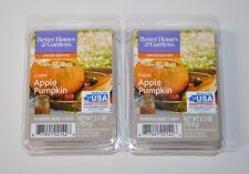 Better Homes & Gardens x2 Farm Apple Pumpkin Wax Cubes New 2.5 oz