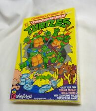 1989 Colorforms Set Tmnt Teenage Mutant Ninja Turtles Sealed Boxed Freeship