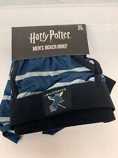 Harry Potter Men's Boxer Briefs Underwear Blue Striped Ravenclaw Size XL