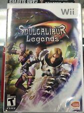 Soul Calibur Legends (Nintendo Wii, 2007) Original Factory Sealed