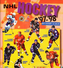 PANINI NHL 1997 1998 album + complete stickers set factory sealed