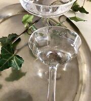 Antik 2x Jugendstil Likörglas Glas So Schön!  Eichstrich optisch gerippt