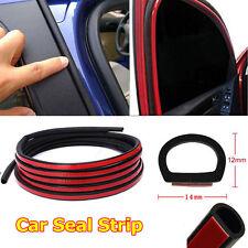 "157"" / 4M D Shape Car Door Rubber Weather Seal Hollow Strip Weatherstrip"