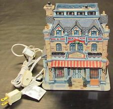 2004 Lemax Sotheby & Sons Antiques & China Shop Carole Towne Christmas Village