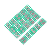 20PCS SOP8 SO8 SOIC8 TSSOP8 MSOP8 to DIP8 Adapter PCB DIY Conveter Board C9YEDE