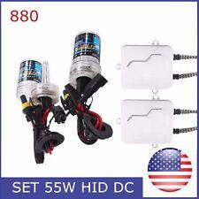 DC 55W H1 H7 H8-H9-H11 H13 880 9004 9005 9006 9007 HID Xenon Bulb Headlight Kit