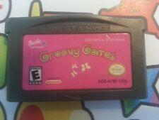 Nintendo NES  GAMEBOY ADVANCE BARBIE GROOVY GAMES FREE POSTAGE