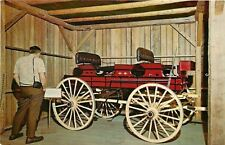 Blue Mountain Lake NY Red Ball Line Express Wagon~Adirondack Museum~Fynmore 1964