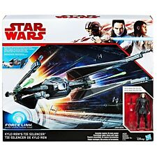Star Wars Kylo Ren Cravate SILENCIEUX Star Fighter ACTION FIGURES et navire