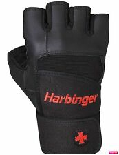 NWOT Harbinger Wristwrap Pro Gloves Weight Lifting Gym Wrist Strap glove