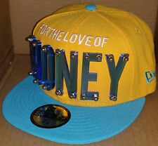 NWT NEW ERA FOR THE LOVE OF MONEY acrylic pop 59FIFTY size 7 1/8 fitted cap hat