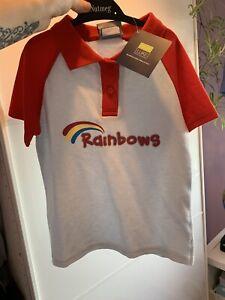 BNWT Girls Rainbows Uniform, size S (small) polo shirt.