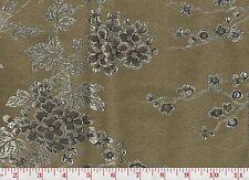 Asian Insp'd Ralph Lauren Upholstery Fabric R$476y Marlowe Woven CL Antique Gold