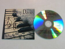 TERRY DAVIES UNPLUGGED THE PIANO MAN ELTON JOHN BILLY JOEL COVERS AUTOGRAPHED CD