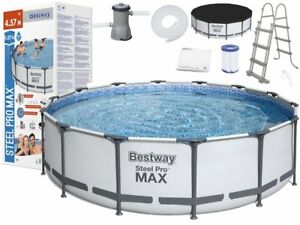 Bestway Steel Pro MAX 366 x 122 cm Pool Bestway 56420 Modell 2021 EXTRA PREISS