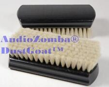 Audiozomba dustgoat ™ wet & dry chèvre cheveux anti-statique vinyl record cleaner brush