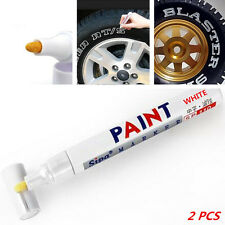 Universal Waterproof Permanent Paint Marker Pen Car Tyre Tire Tread White Rubber