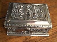 French Jewelry Box Vanity Trinket Box Casket